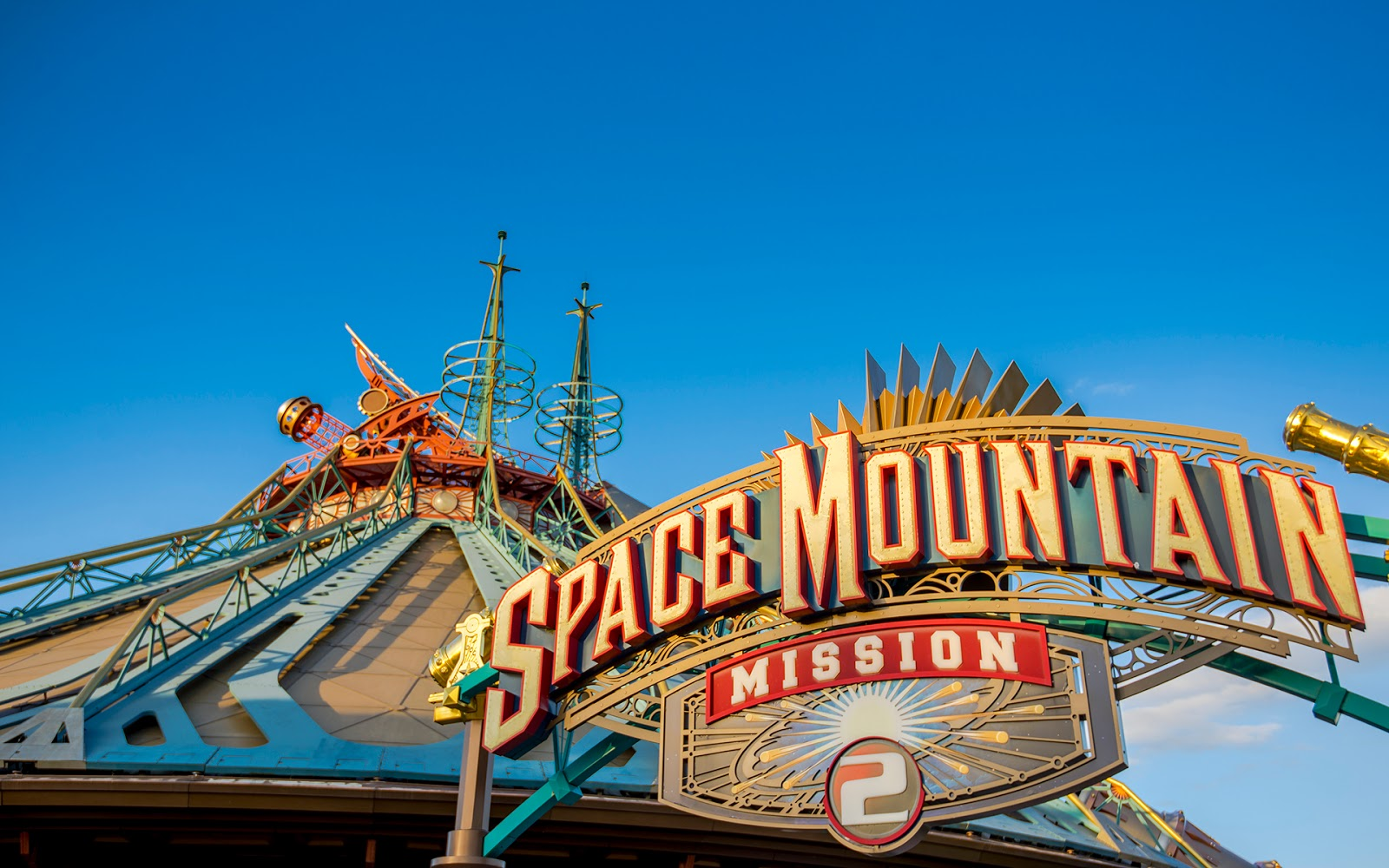 En quelle année space mountain