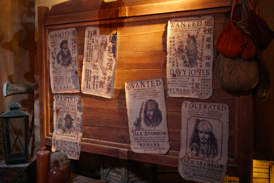 Pirates of the Caribbean : Battle for the sunken treasure Queue