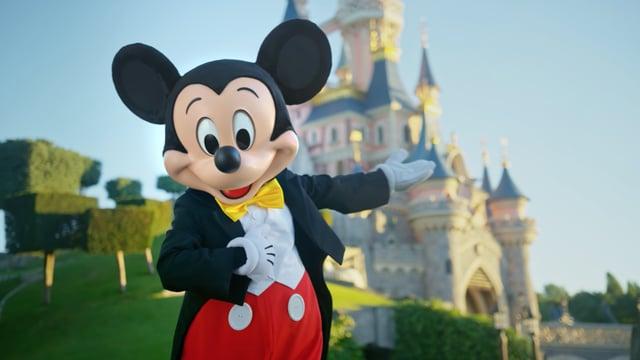 Mickey Mouse dans son nouveau look.