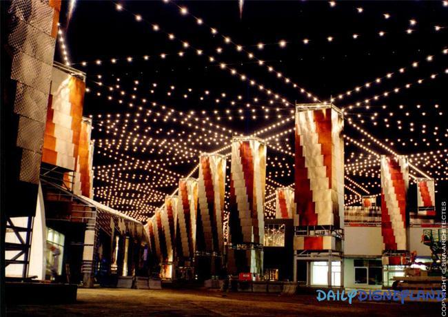 Disneyland paris les 25 ans de disney village daily - Bureau de change disney village ...