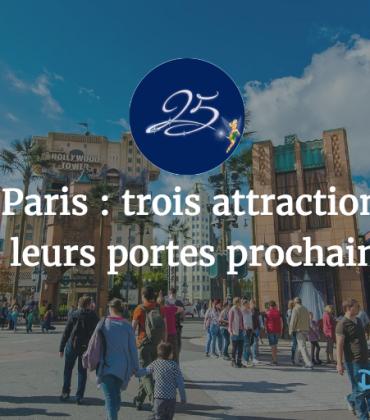 Disneyland Paris : trois attractions devraient définitivement fermer leurs portes prochainement