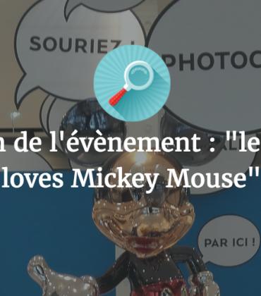 Présentation de l'événement «Le BHV Marais Loves Mickey Mouse»
