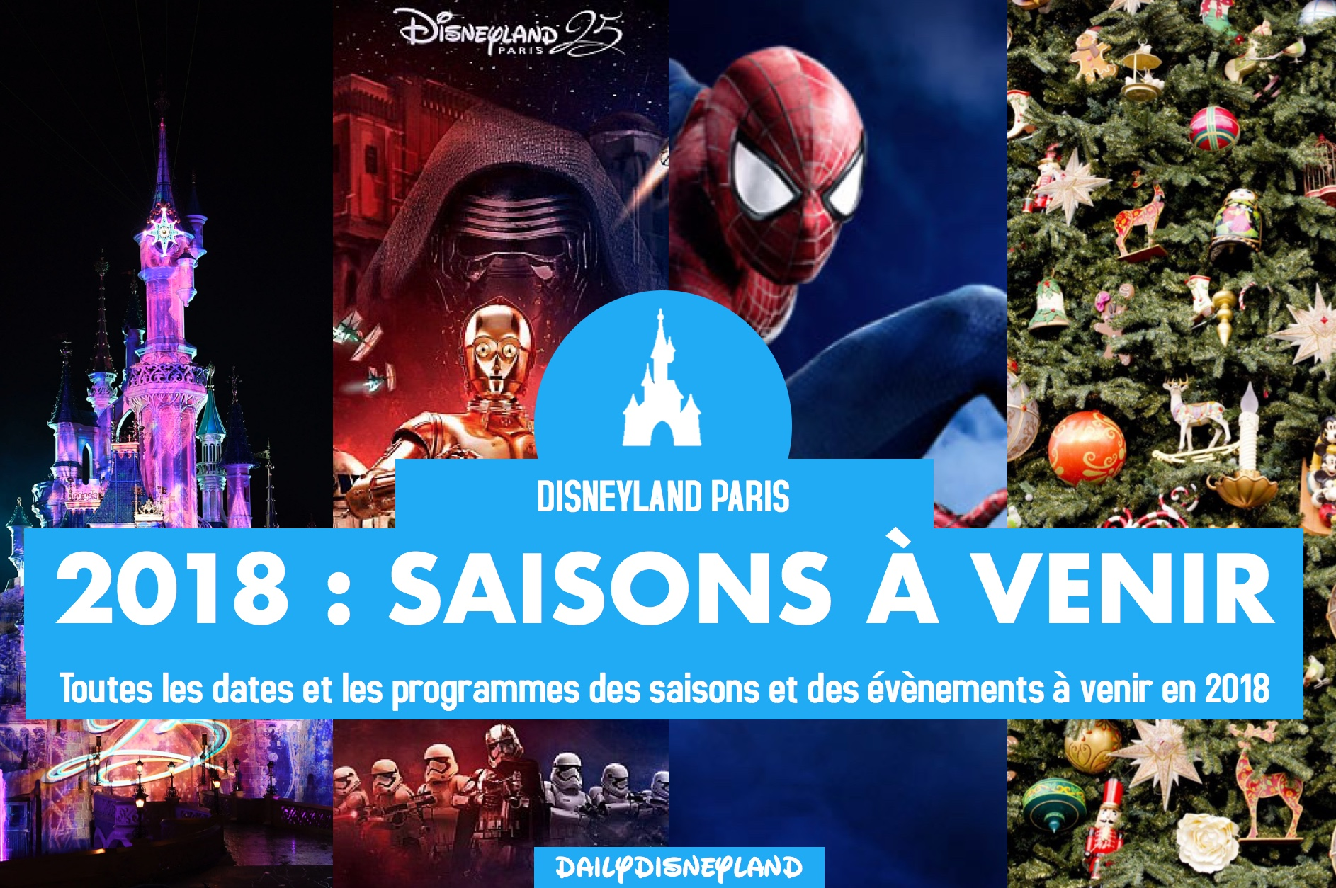 decorations noel disney 2018 Toutes les saisons à venir en 2018 à Disneyland Paris : dates  decorations noel disney 2018