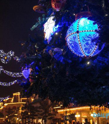 Disneyland Paris : les photos des illuminations de Noël de cette année