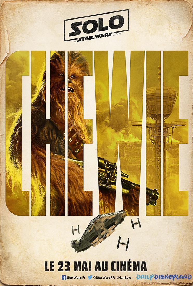 Solo Affiche Chewbacca