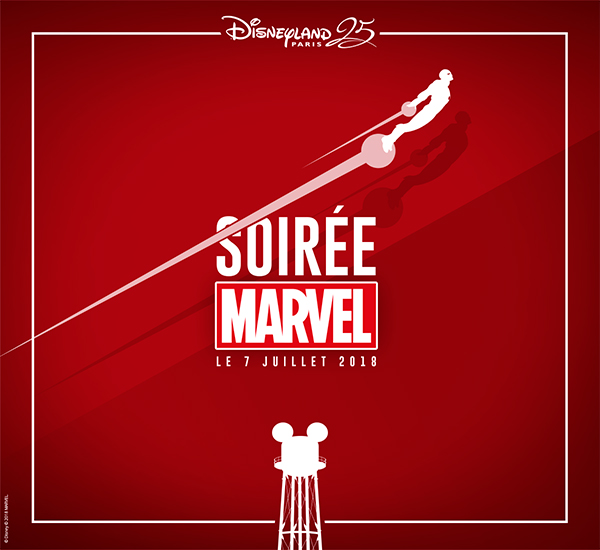 soiree pass annuels marvel disneyland paris