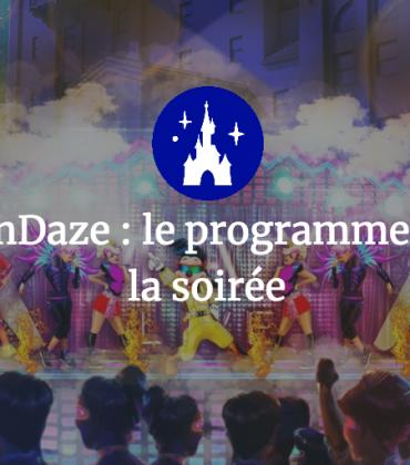 Disney FanDaze : le programme officiel de la soirée