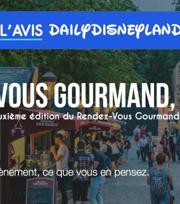 Le Rendez-Vous Gourmand édition 2018, Notre avis !
