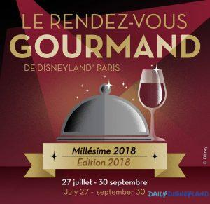 rendez vous gourmand disneyland paris 2018 avis daily disneyland