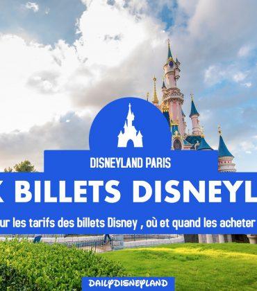 Billets d'entrée à Disneyland Paris, où et quand acheter pour bénéficier du meilleur prix ?