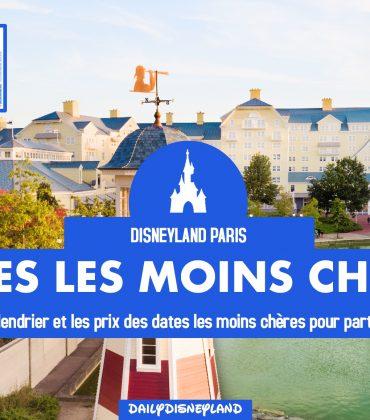 Disneyland pas cher: les dates les moins chères 2018 / 2019
