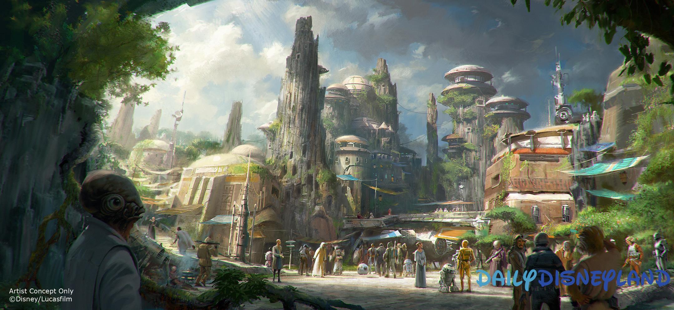 nouvelle attraction disneyland paris futur disney disneyland star wars galaxy s edge land