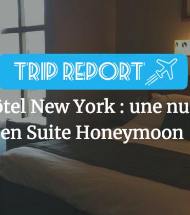 Hôtel New York : une nuit en suite honeymoon