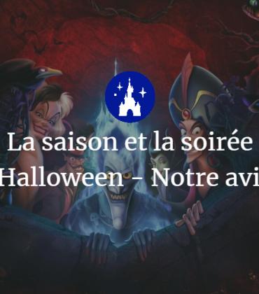 La saison et la soirée d'Halloween – Notre avis !