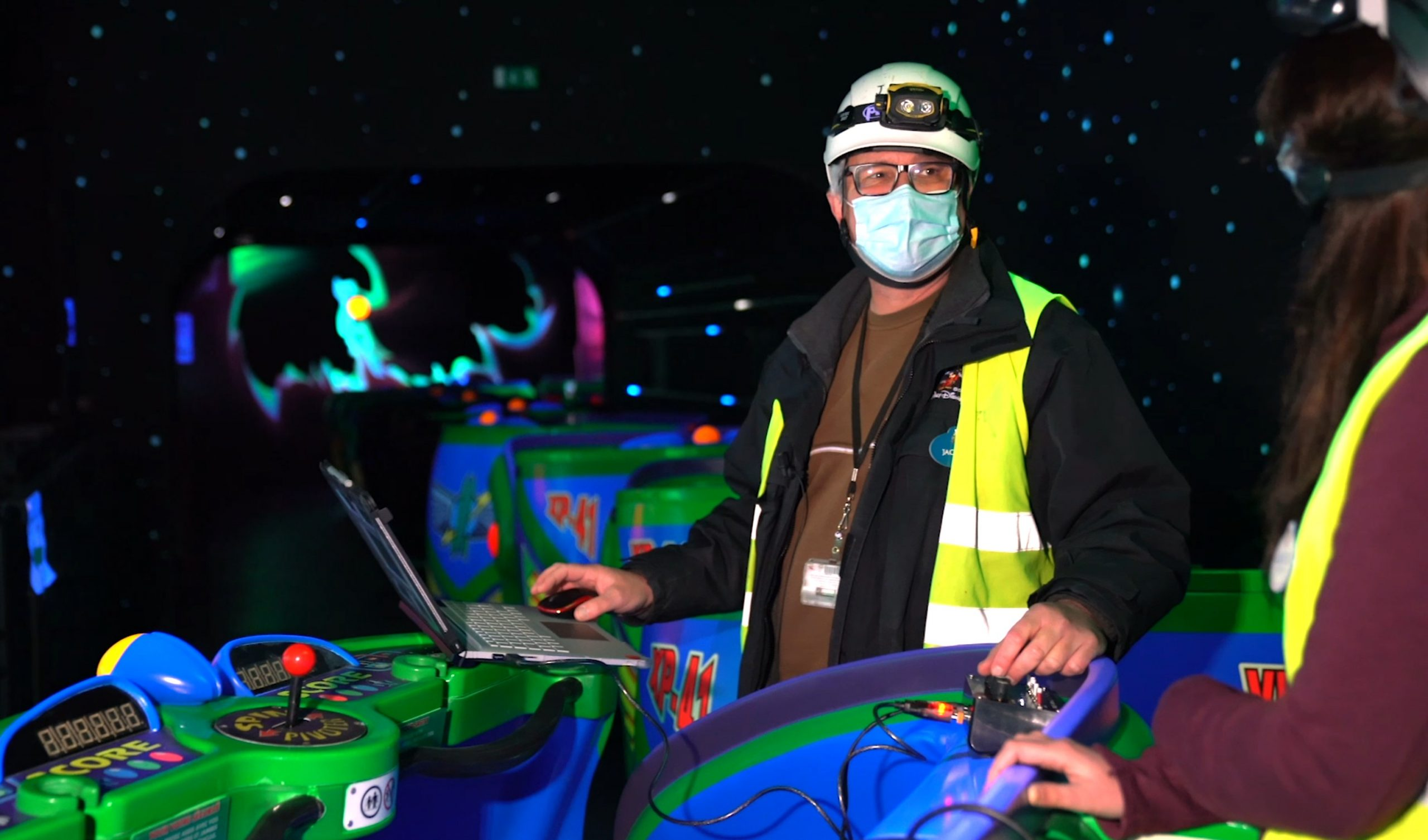 réhabilitation rénovation buzz lightyear laser blast disneyland paris