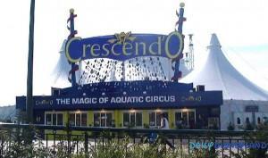 Le spectacle Crescend'O au Dôme du Disney Village ©Disney Magic Interactive