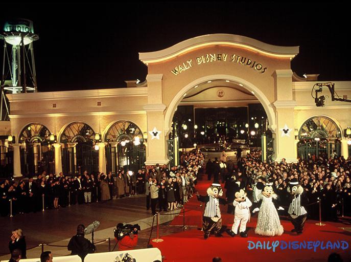 Linauguration-des-Walt-Disney-Studios