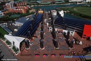 Disney Village à son ouverture ©Designing Disney