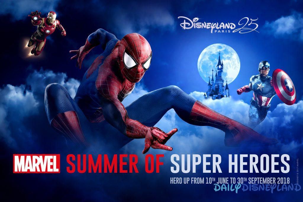 Saison Super Héros Marvel Disneyland Paris