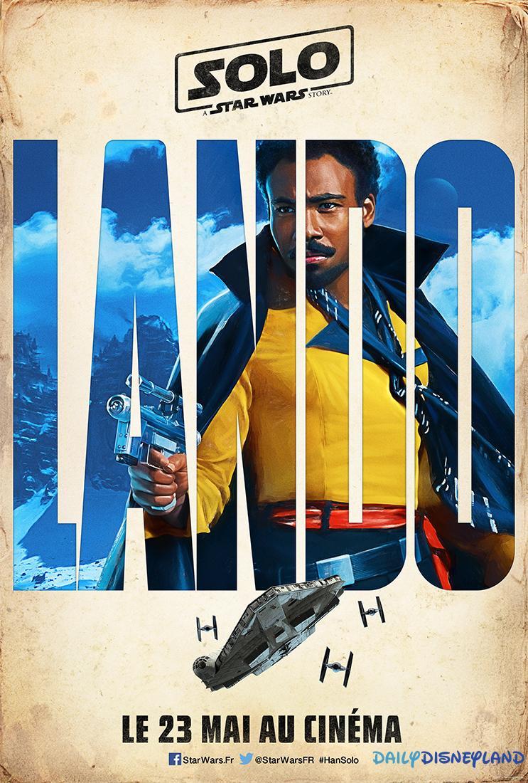 Solo Affiche Lando