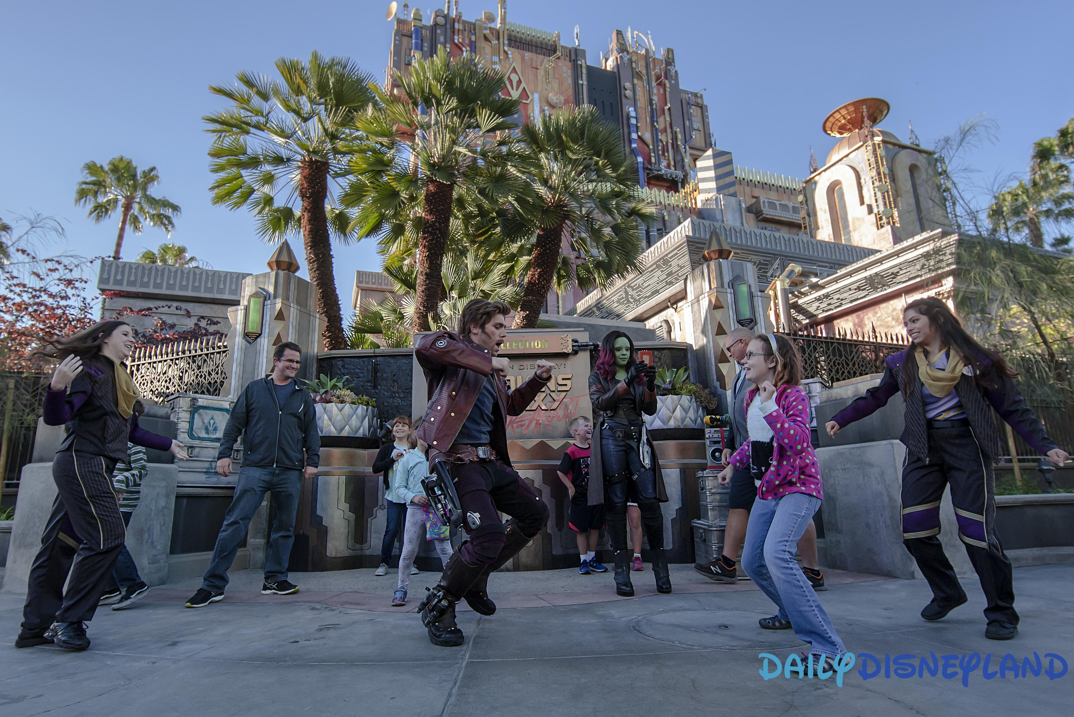 gardiens de la galaxie marvel disney california adventure disneyland resort