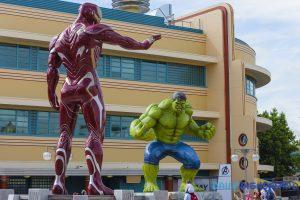 marvel summer of super heroes statues