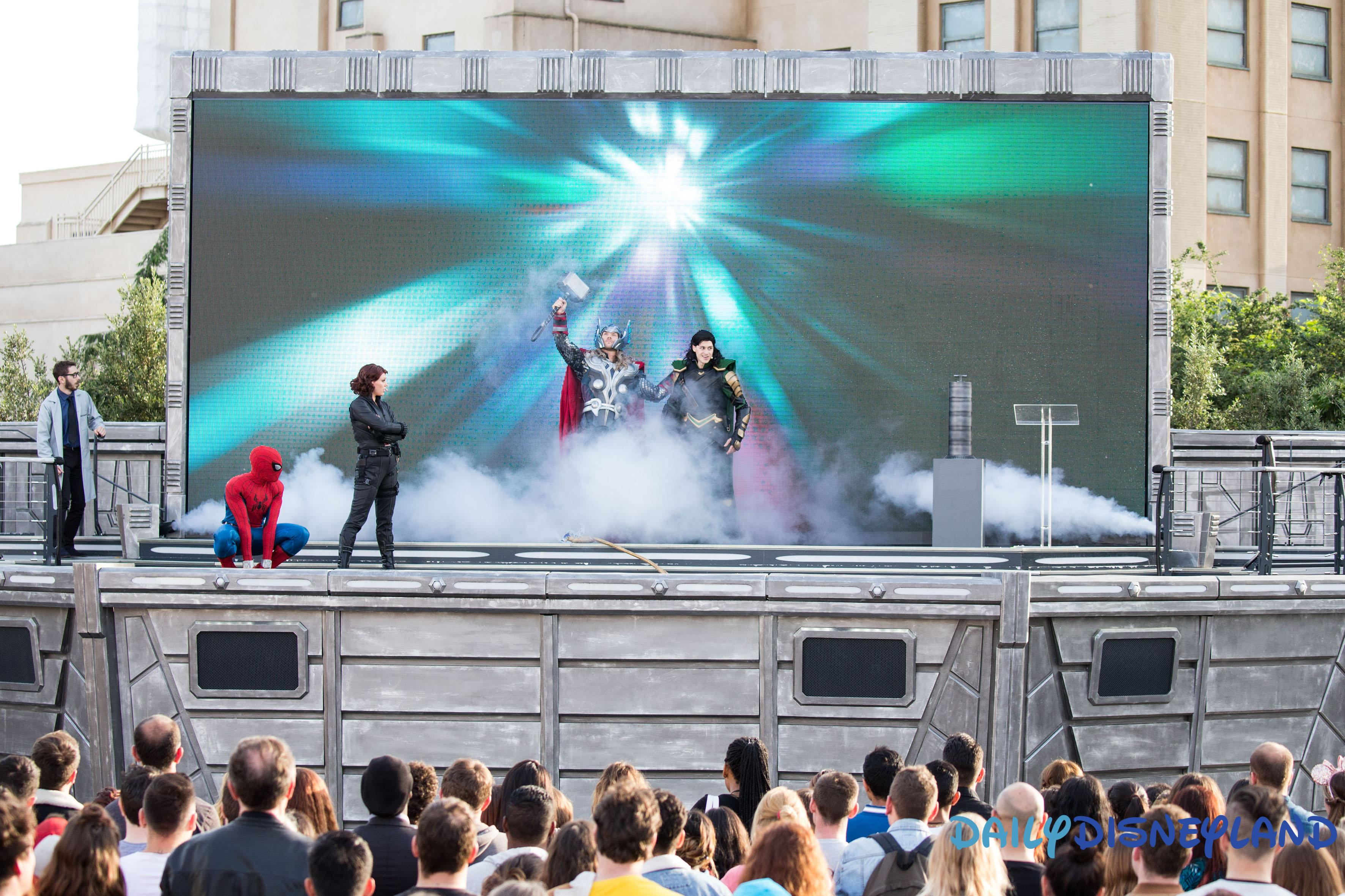 marvel summer of super heroes united stark expo