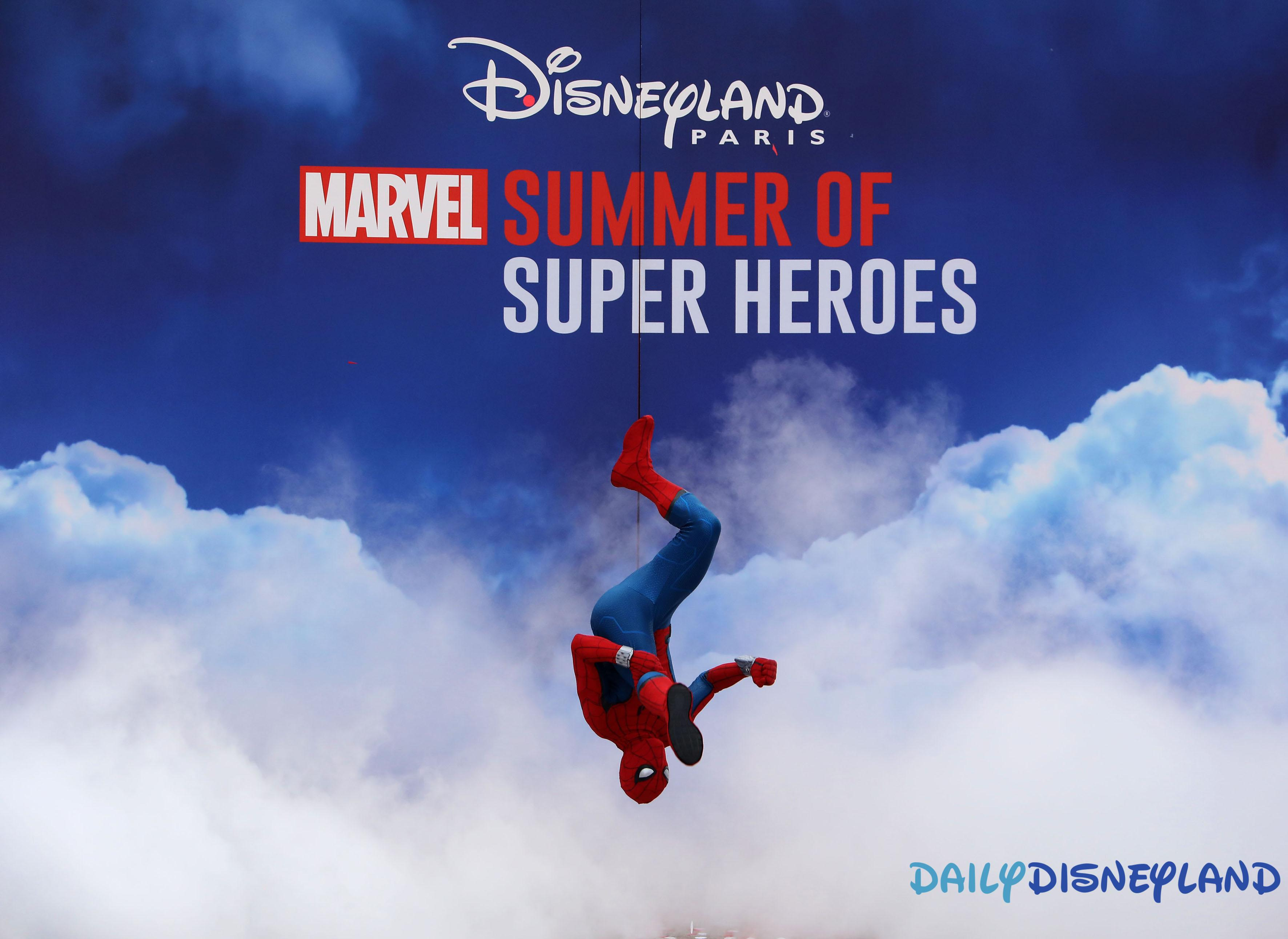 ete super héros marvel disneyland paris avis 2018