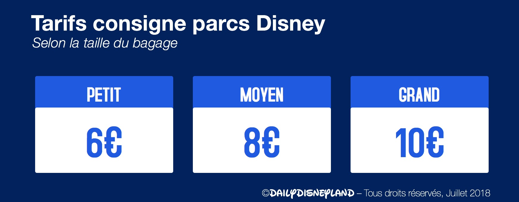 bagagerie consigne parcs disney disneyland paris sacs valises disney disney express prix daily disneyland guide coffres