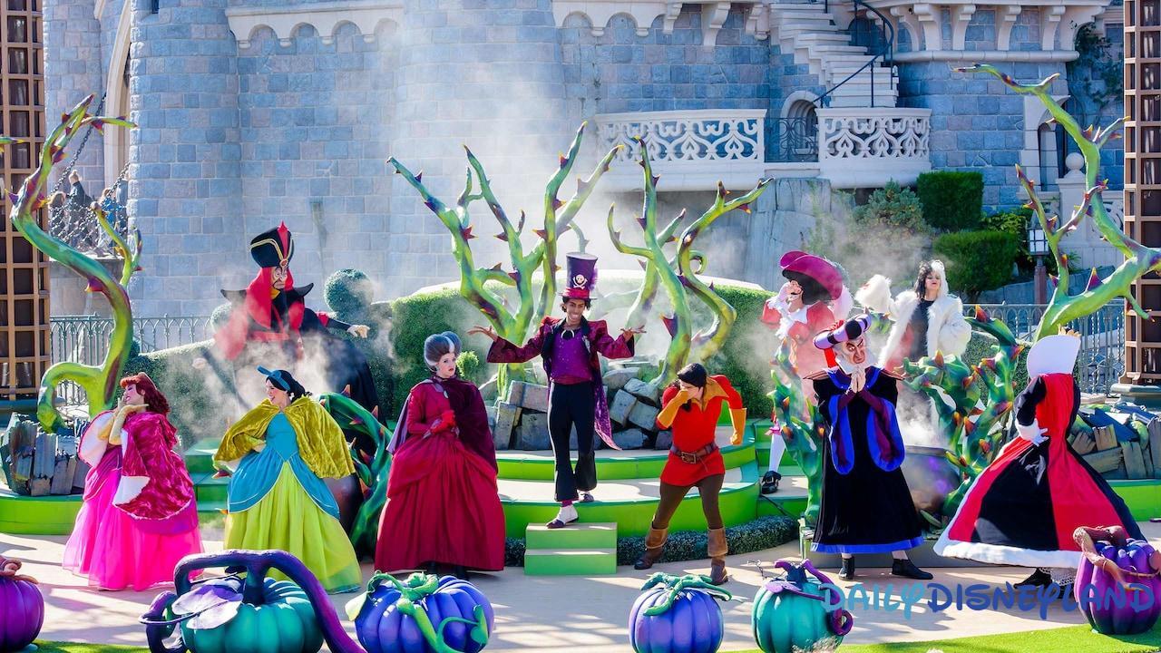 programme saison halloween 2018 disneyland paris mechants disney disneyland
