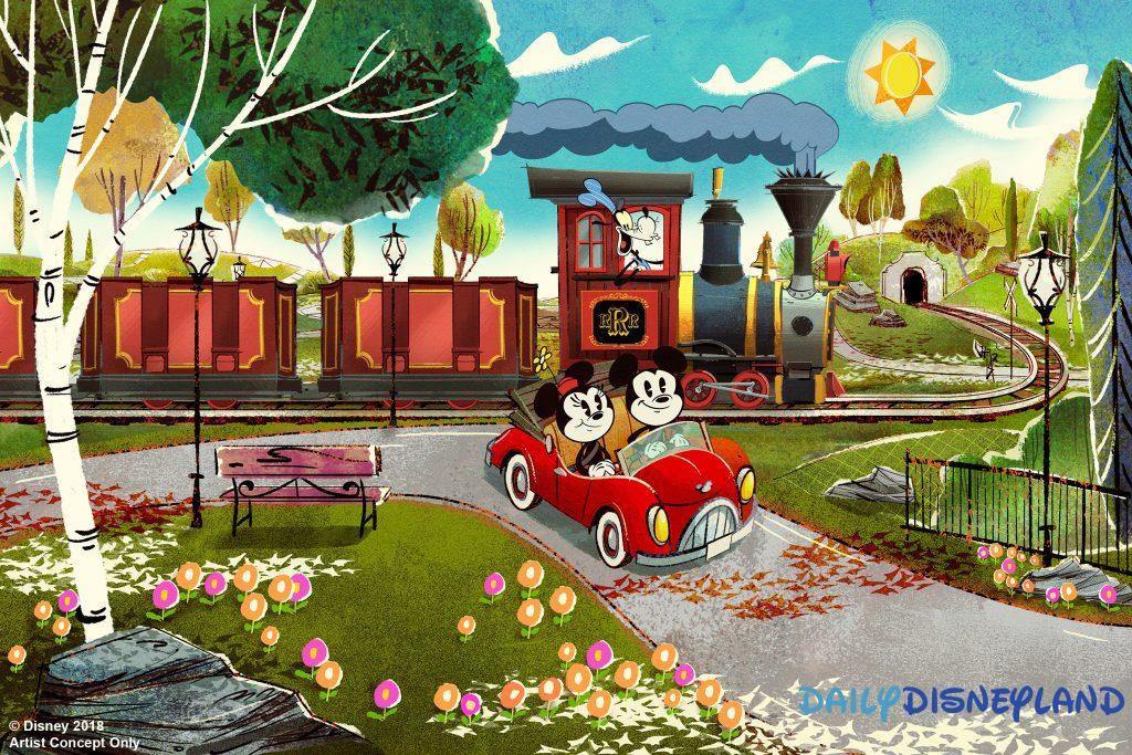 nouvelle attraction disneyland paris futur disney disneyland mickey minnie runaway railway disneyland paris