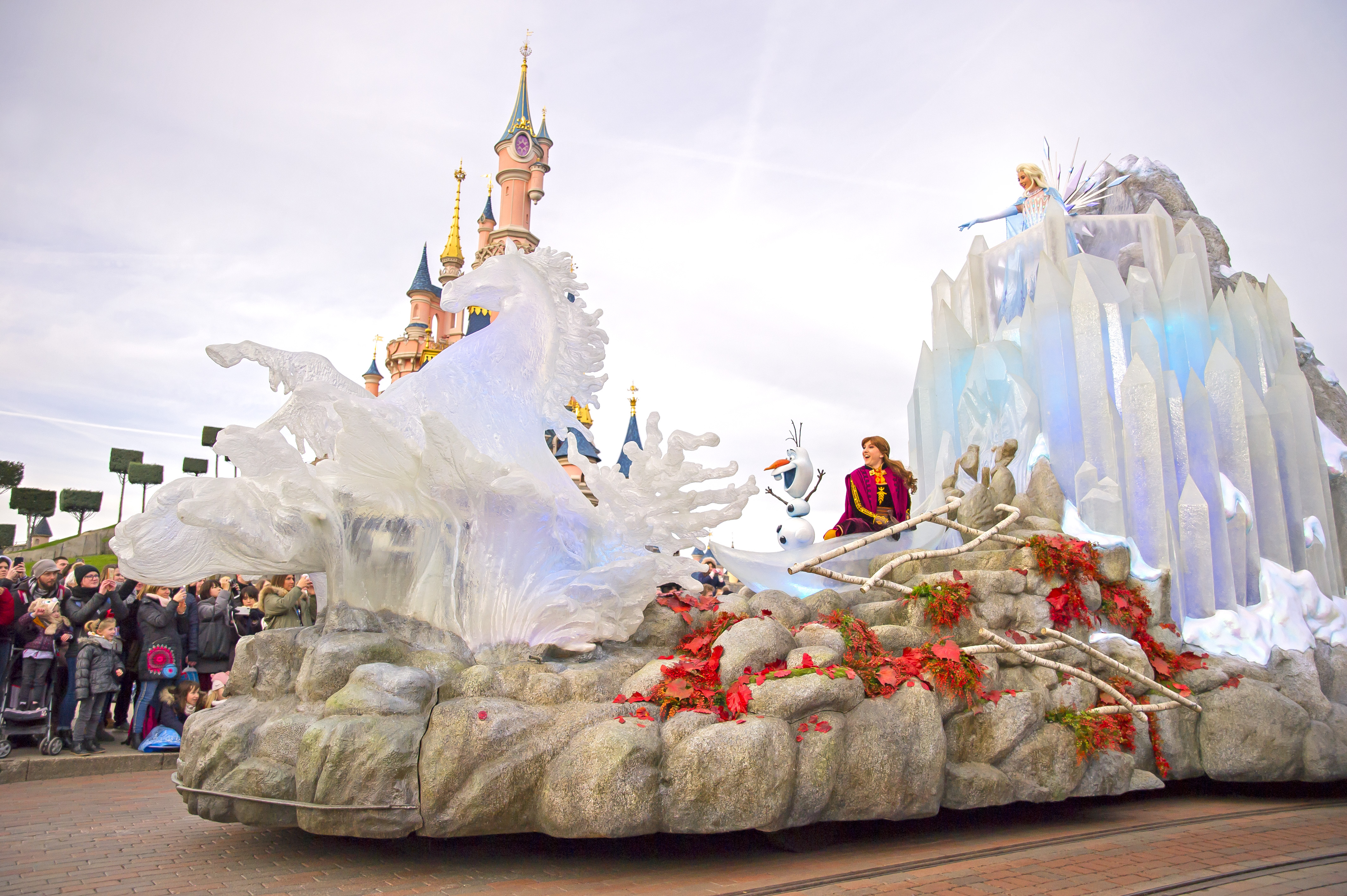 celebration la reine des neiges 2 disneyland paris nouveauté 2020