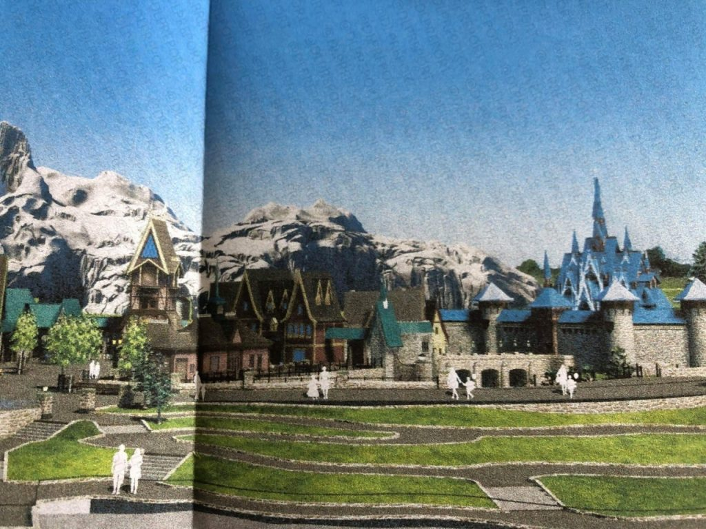 concept art land la reine des neiges disneyland paris frozen land ouverture date ouverture attraction la reine des neiges disneyland paris disney