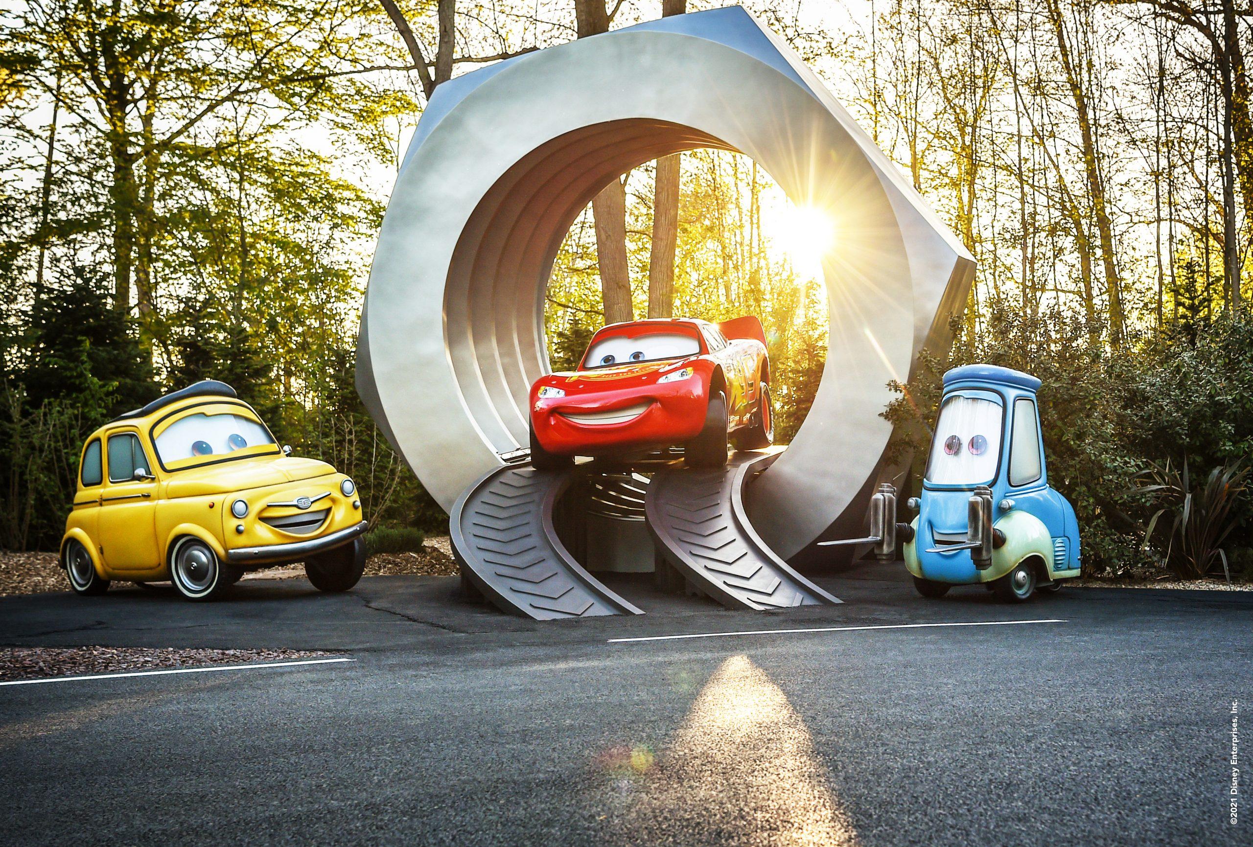 cars road trip nouvelle attraction disneyland paris 2021 walt disney studios