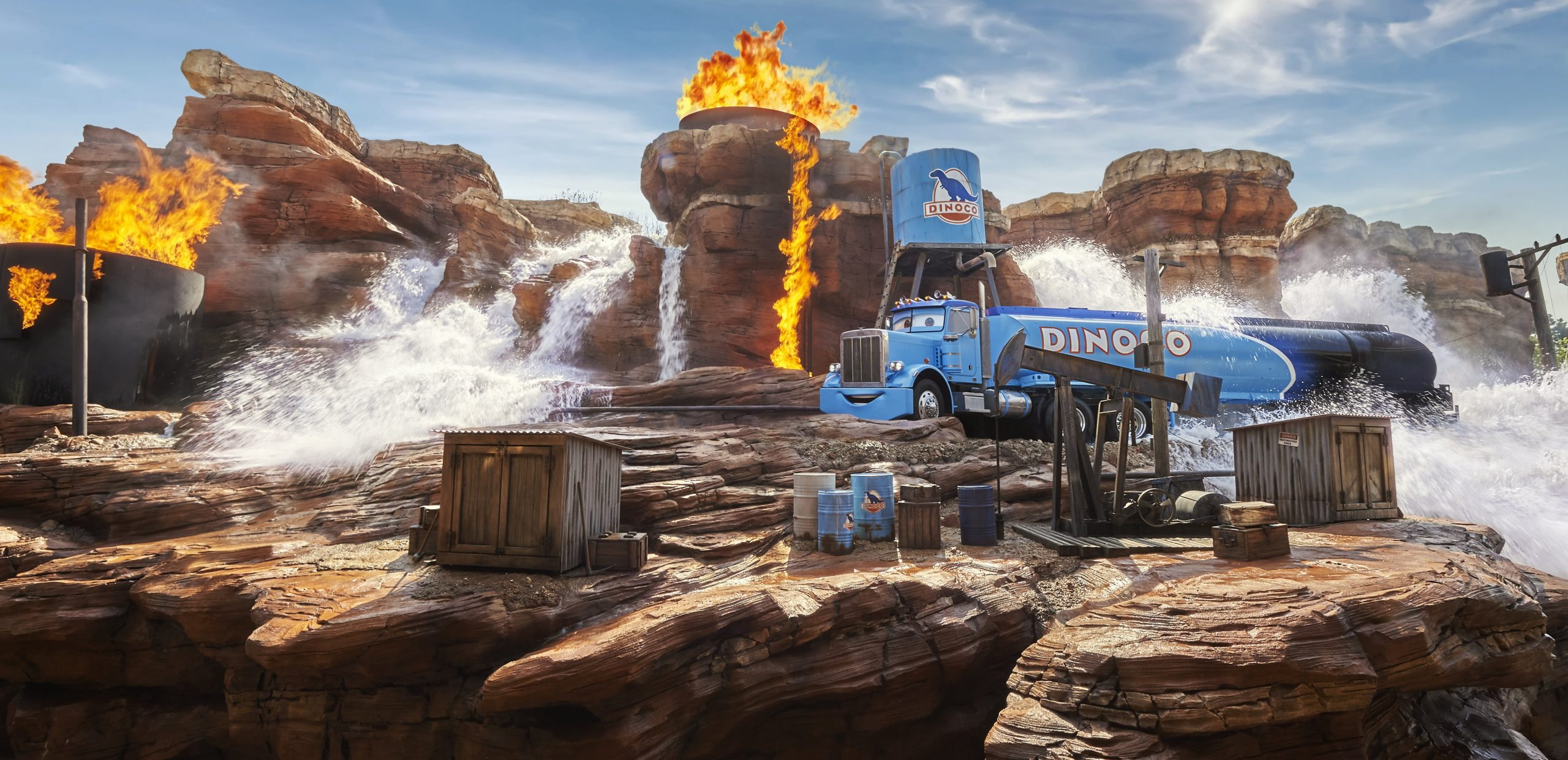 photos cars road trip disneyland paris nouvelle attraction disneyland 2021